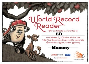 Otis_Read_For_The_World_Record
